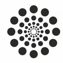 Pochoir Mandala cercle N° 1