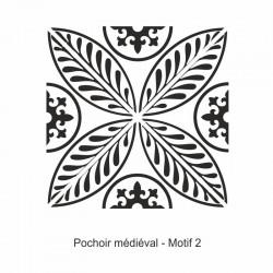 Pochoir Médiéval - Motif 2