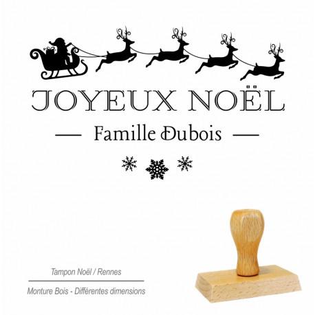 Tampon Joyeux Noël - rennes