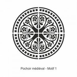 Pochoir Médiéval - Motif 1