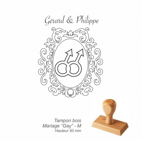 "Tampon mariage ""Gay"""