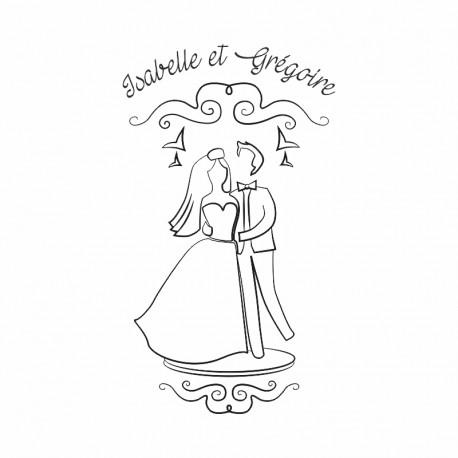 "Tampon mariage ""Catholique"""