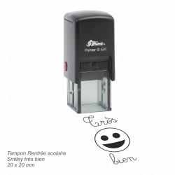 Tampon automatique Smiley très bien