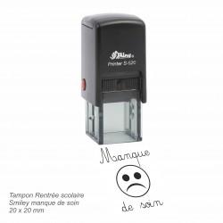 Tampon automatique Smiley manque de soin